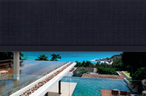 visiontex metallic outdoor blinds and awnings